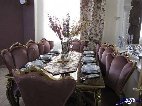 تزیین میز ناهارخوری عروس