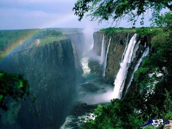 عکس آبشار های زیبا