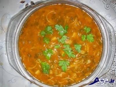دستور پخت سوپ ورمیشل