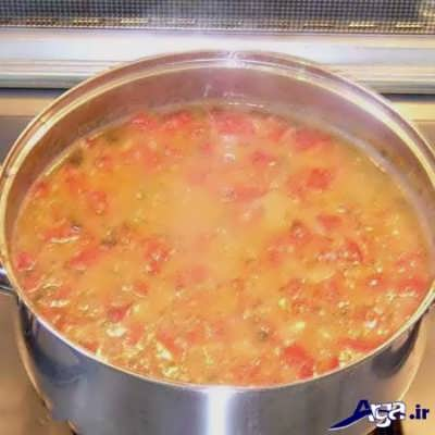 طرز تهیه سوپ ورمیشل