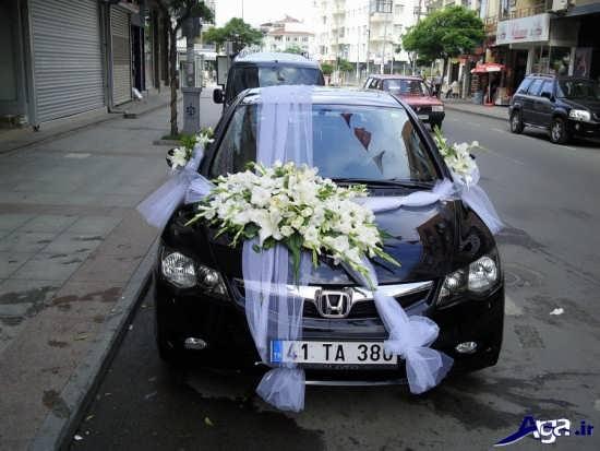 عکس های ماشین عروس جدید