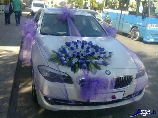 تزیین ساده ماشین عروس