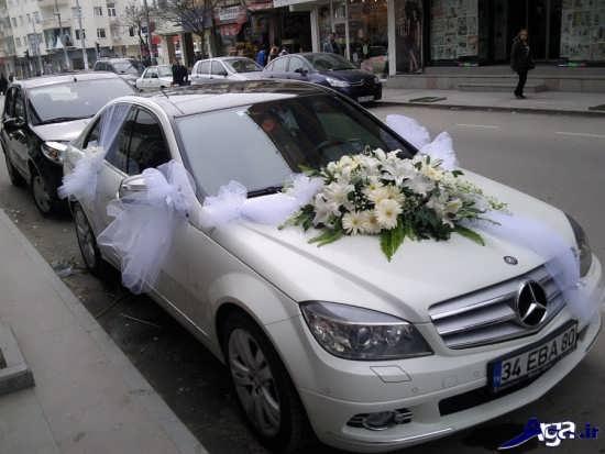 عکس ماشین عروس شیک