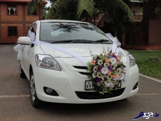 عکس های ماشین عروس زیبا