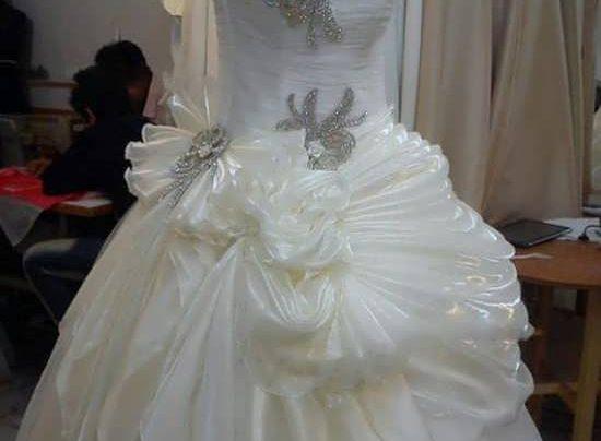 مدل سنگ دوزی روی لباس