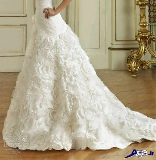 تزیین جدید لباس عروس