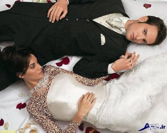 عکس عروس و داماد زیبا در آتلیه