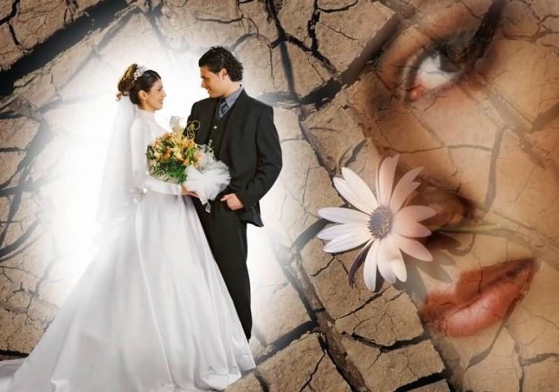 عکس های جالب از ژست عروس و داماد