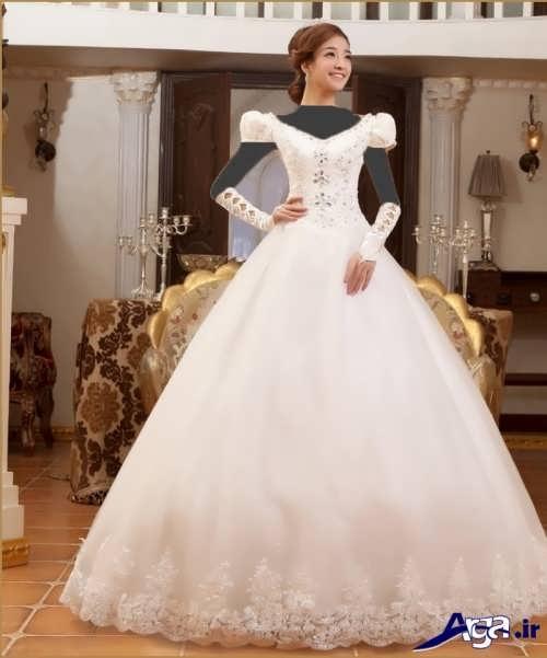 انواع مدل های لباس عروس