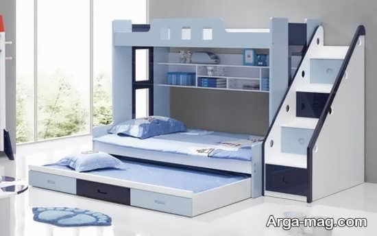 تختخواب دو طبقه تاشو