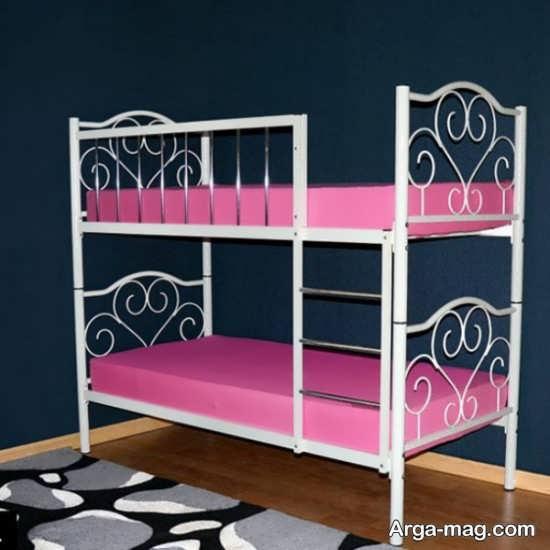 مدلی از تختخواب دو طبقه