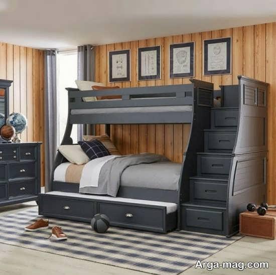 تخت خواب دو طبقه لوکس