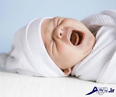 کولیک و نشانه های آن در نوزادان