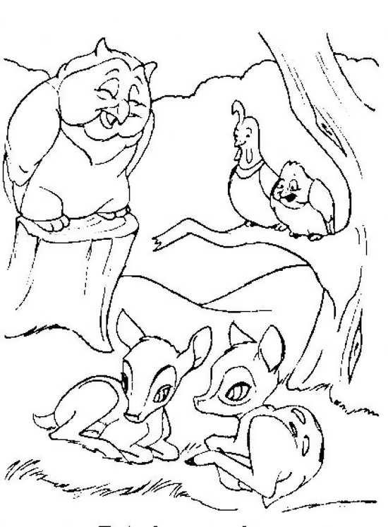 نقاشی کارتونی آهو