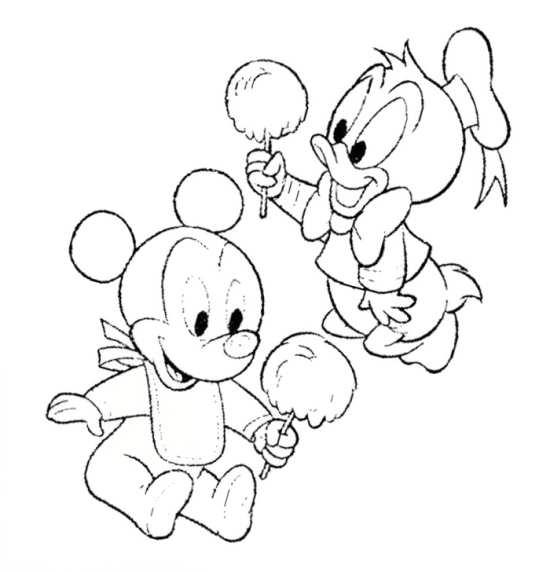 نقاشی موش و اردک