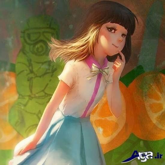 عکس کارتونی و فانتزی دخترانه