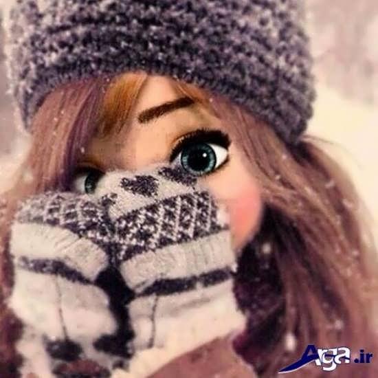 عکس های فانتزی دخترانه در زمستان