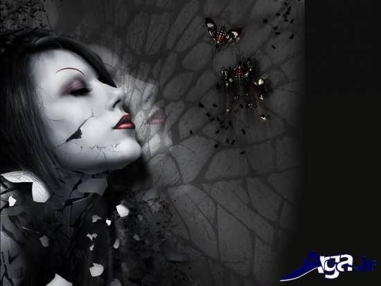 عکس غمگین تنهایی فانتزی