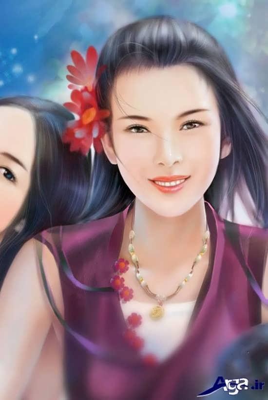 عکس فانتزی دخترانه چینی