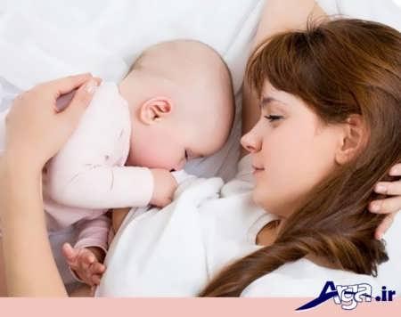 زیاد شدن قطعی شیر مادر
