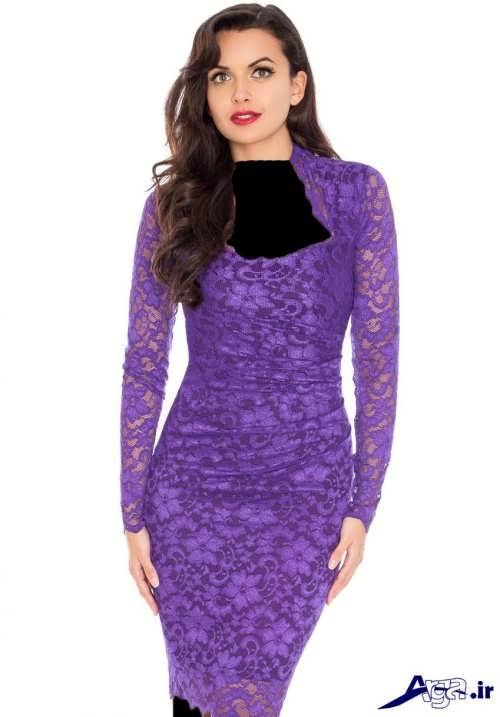 مدل لباس کوتاه گیپور زنانه