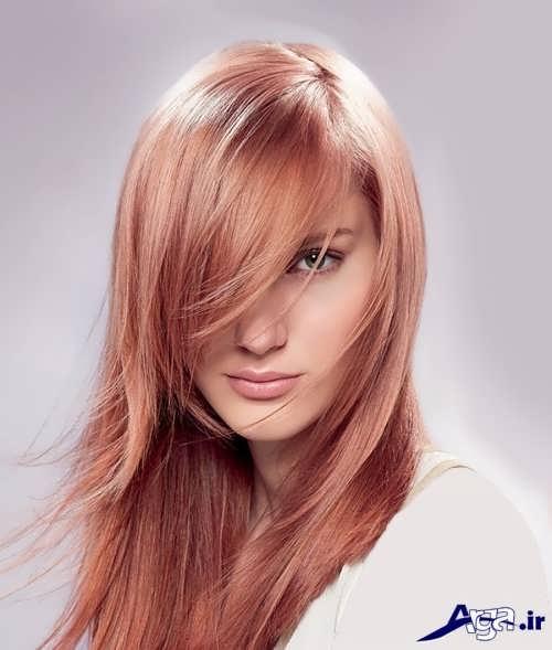 مدل زیبا و متفاوت موی بلند