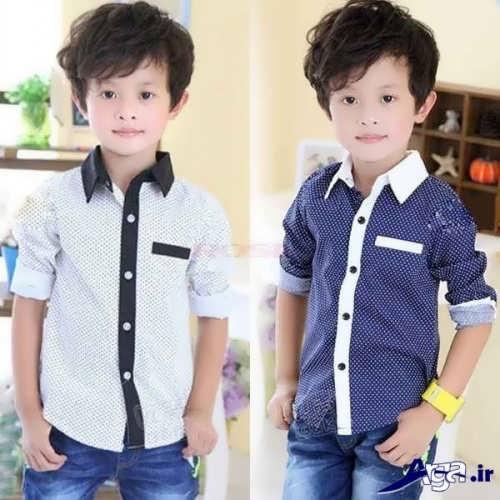 پیراهن بچه گانه زیبا و متفاوت