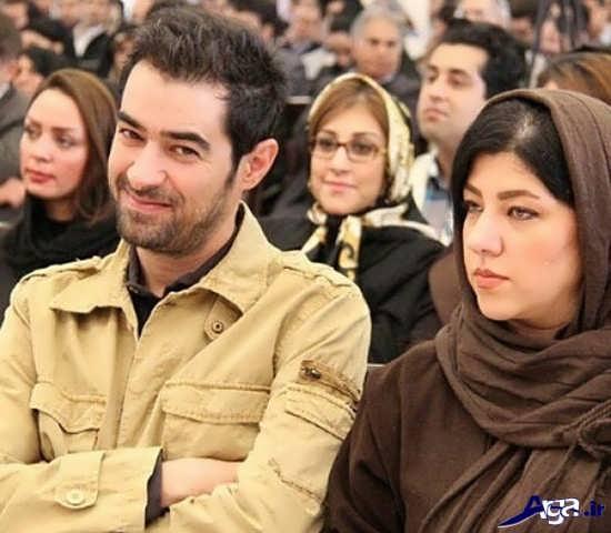 عکس جدید شهاب حسینی و همسرش
