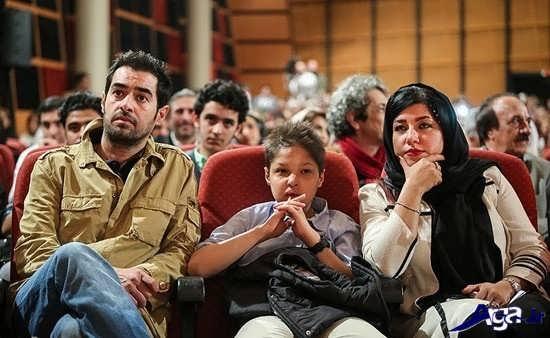 عکس خانواده شهاب حسینی