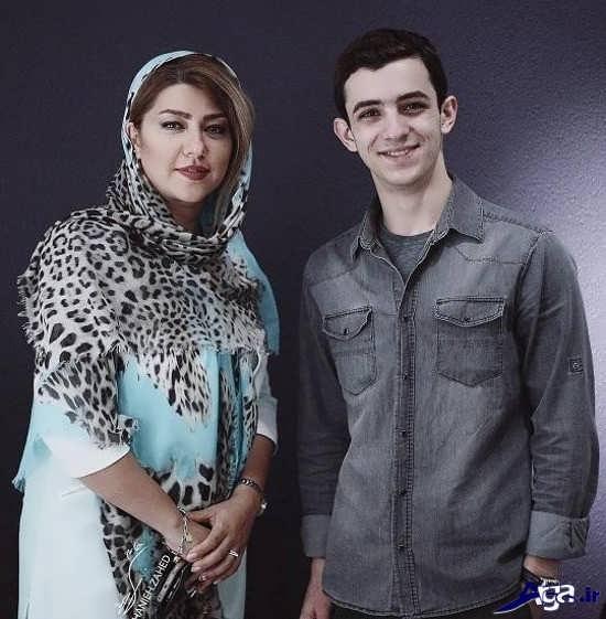 عکس همسر شهاب حسینی