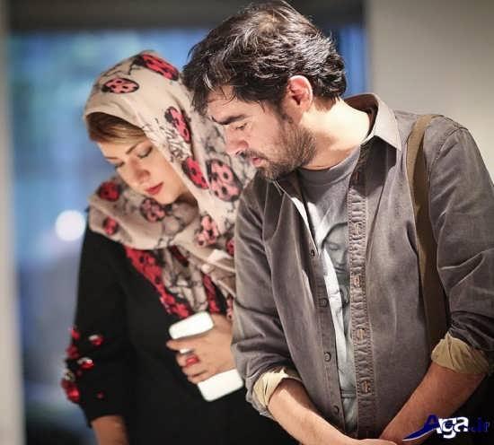 پریچهر قنبری و همسرش شهاب حسینی