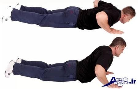 انواع حرکات شکمی برای لاغری