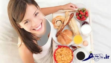 برنامه غذایی برای چاق شدن