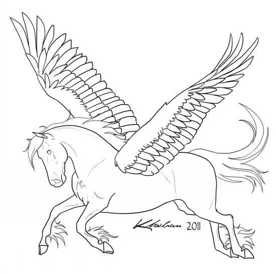 نقاشی و رنگ آمیزی اسب
