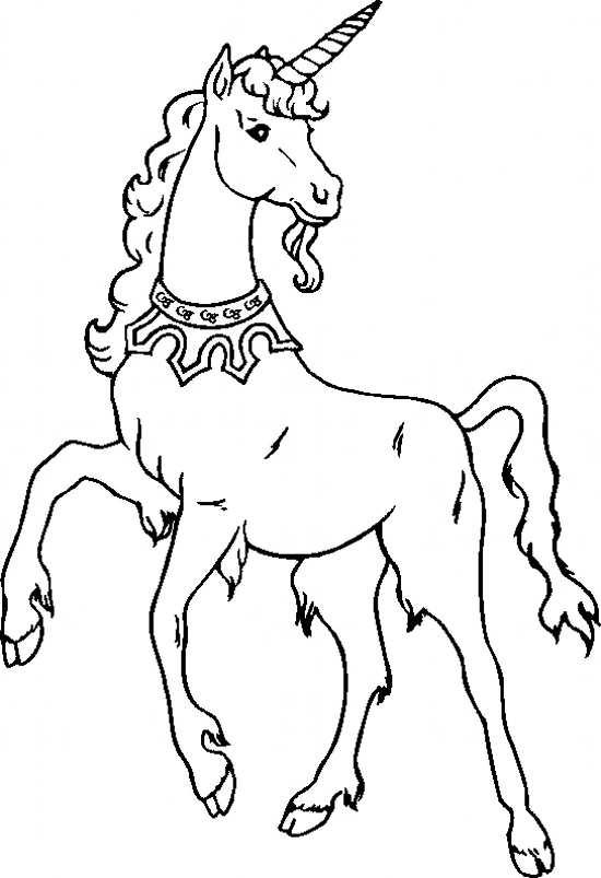 نقاشی کودکانه اسب