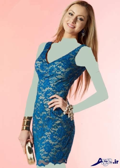 مدل لباس گیپور کوتاه