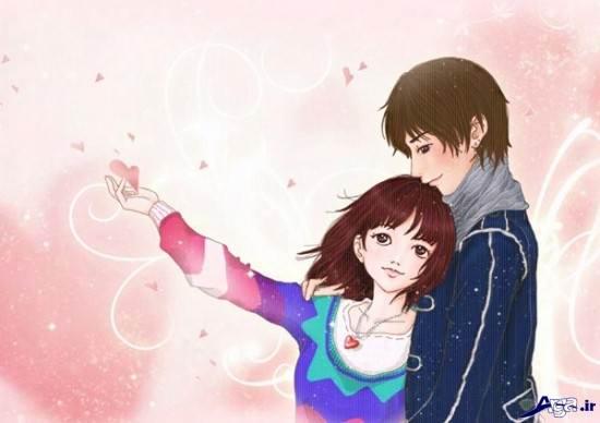انیمیشن عاشقانه دختر و پسر