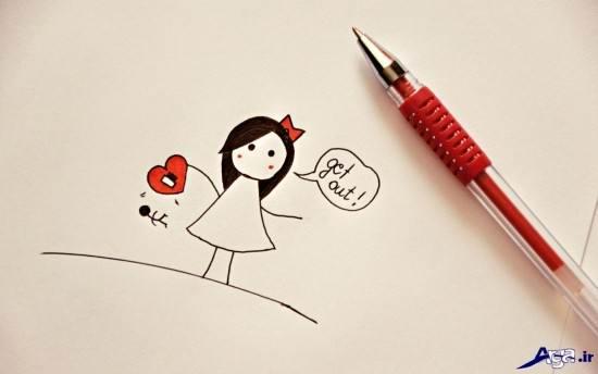 عکس عاشقانه و دخترانه