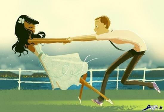 انیمیشن عاشقانه و جذاب