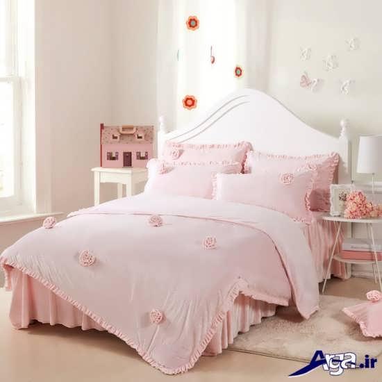 مدل تخت خواب زیبا دخترانه