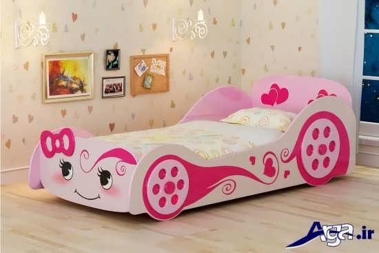 مدل تخت خواب زیبا و عروسکی