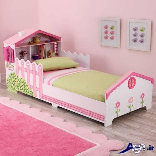 مدل تخت خواب دخترانه زیبا و دوست داشتنی 20 مدل