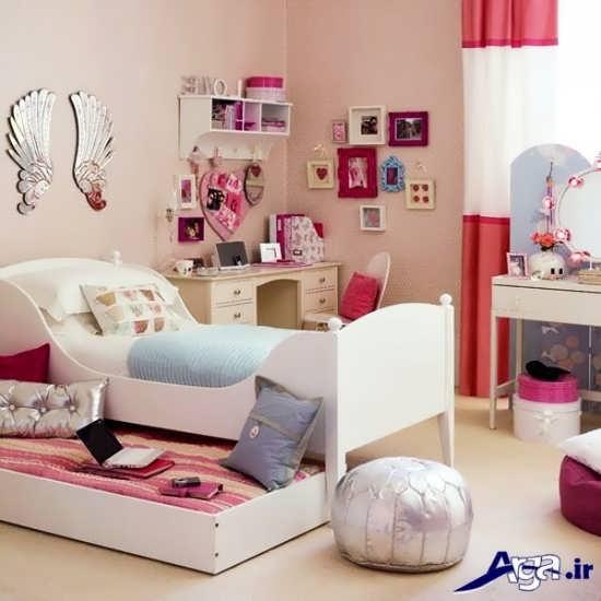 طراحی داخلی دکوراسیون اتاق دخترانه