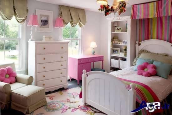 زیباترین مدل اتاق خواب دخترانه