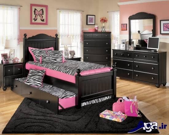 زیباترین نمونه های طراحی داخلی اتاق خواب نوجوان و جوان