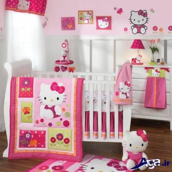 مدل زیبا و متفاوت دکوراسیون اتاق خواب کودک