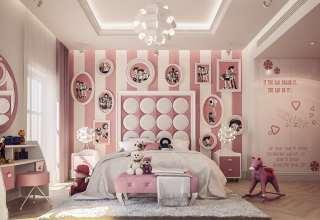 مدل اتاق خواب دخترانه با طراحی های بی نظیر