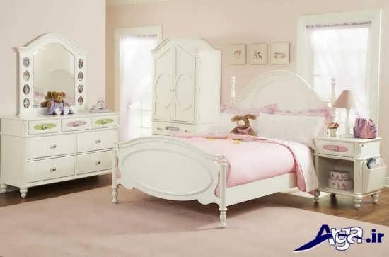 مدل اتاق خواب دخترانه با طراحی شیک