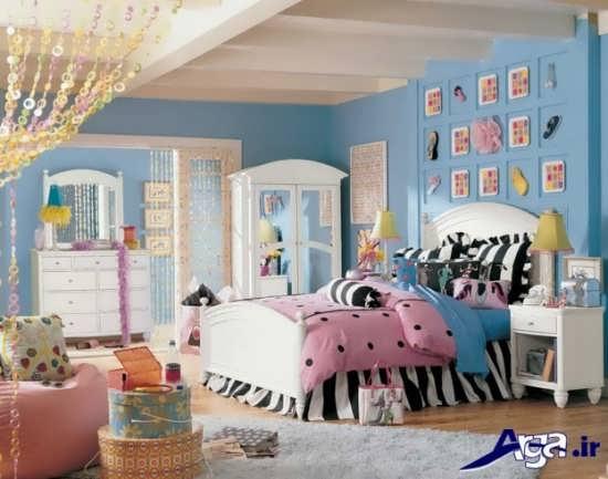 انواع مدل های اتاق خواب دخترانه