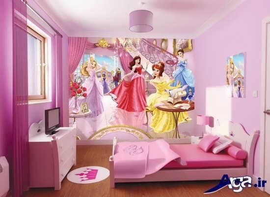 اتاق خواب دخترانه فانتزی